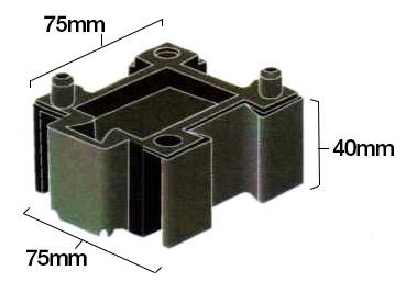 Quarter JIG-BRIX Dimensions